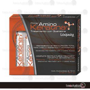 Ampolleta AminoKeratina 1pza 10ml Loquay
