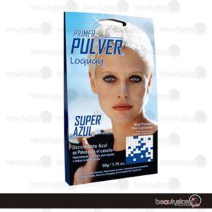 Decolorante Primer Pulver Super Azul 50gr Loquay