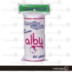 Almohadilla Algodon 100pzas Alby