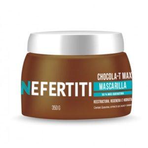 Mascarilla Chocolate Queratina Nefertiti 350grs