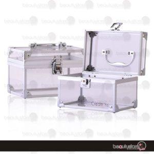 Cosmetiquera Acrilico Blanco PB1541-C
