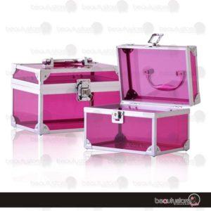 Cosmetiquera Acrilico Rosa PB1541-P