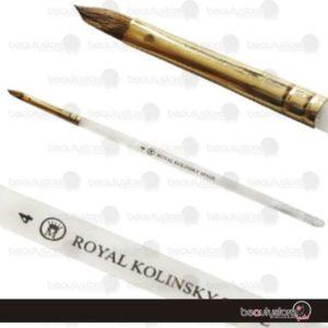 Pincel#4 Royal Kolinsky Spade RKS-4
