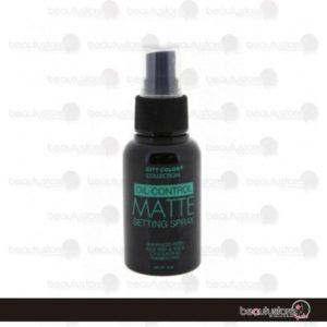 Oil-Control Matte Setting Spray 75ml F-0058 City Color