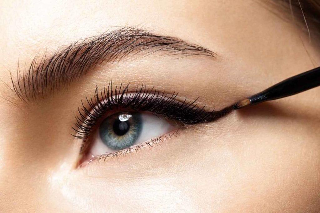 tipos de delineado de ojos