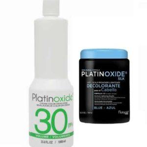 Decolorante Azul 350gr + Peróxido Nutrapel