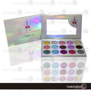 Paleta De Glitter 15 Tonos Unicorn Dream EG15