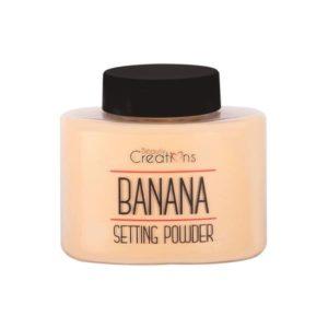 Banana Setting Powder Beauty Creations