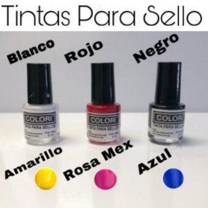 Tintas Para Sello Uñas 5ml Colori